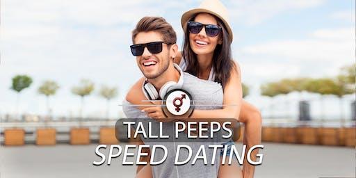 Tall Peeps Speed Dating | F 26-39, M 28-42 | Jun