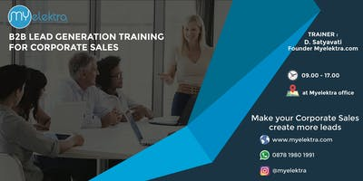 B2B Lead Generation Training