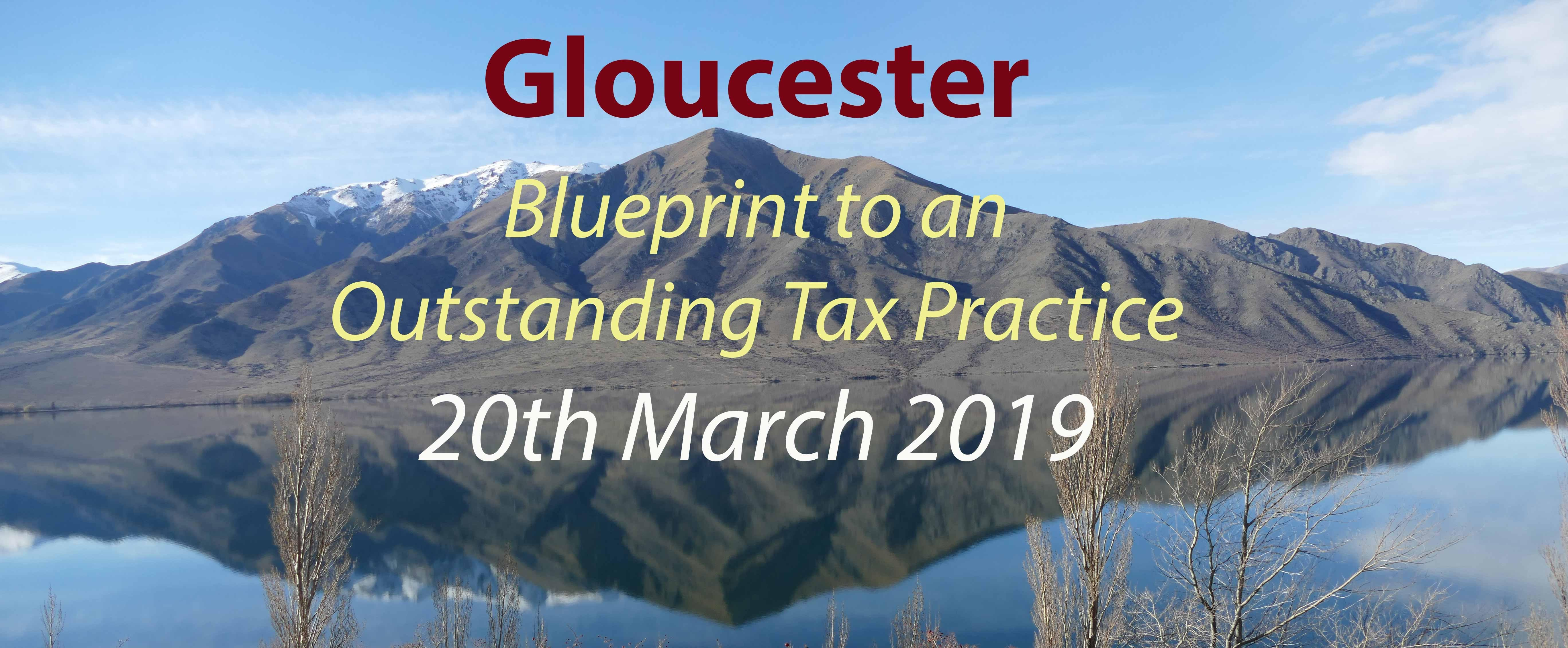 BluePrint to an Outstanding Tax Practice - Gl