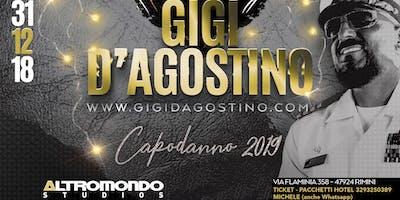 Capodanno 2019 Altromondo Studios Rimini GIGI D'AGOSTINO Ticket Pacchetti Hotel