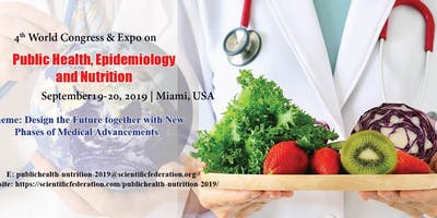 4th World Congress & Expo on Public health, Epidemiology and Nutrition