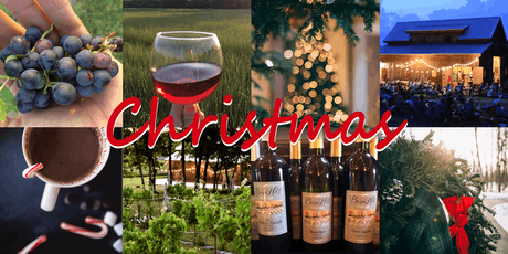 Live Christmas Music/Dinner at the Vineyard - w 3 flight tasting, smore's, souvenir wine glass, everything included! tickets