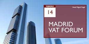MADRID VAT FORUM 2019