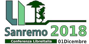 Conferenza LibreItalia Sanremo 2018
