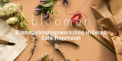 bloomon blomsterbindings-workshop 6. december | Hillerød, Café Havehuset