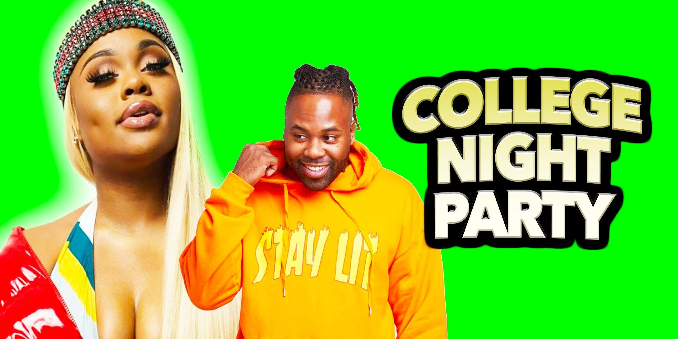 College Night Party Hosted By Queen Key 22 Nov 2018