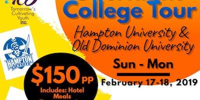 COLLEGE TOUR - Hampton University/Old Dominion
