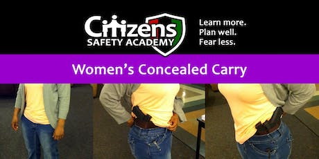 Women's Concealed Carry tickets