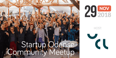 Startup Odense Community Meetup – Host: UCL Incubator