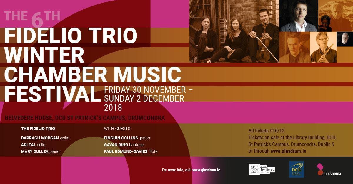 Fidelio Trio Winter Chamber Music Festival 2018