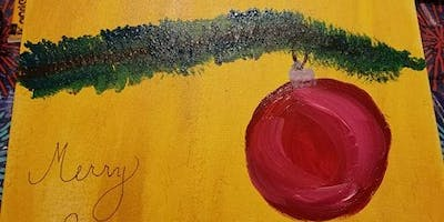 Canvas Painting: Ornament