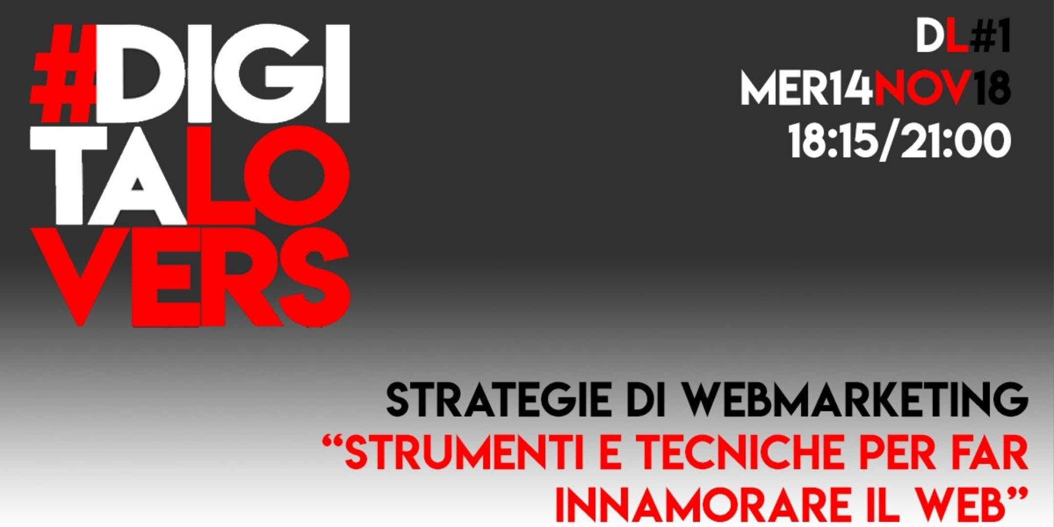 Strategia di web marketing - Strumenti e tecn