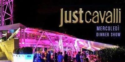 JUST CAVALLI MILANO - MERCOLEDI 21 NOVEMBRE 2018 - WEDNESDAY NIGHT - APERITIVO E SERATA - LISTA MIAMI - LISTE E TAVOLI AL 338-7338905