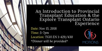 An Introduction to Provincial Transplant Education