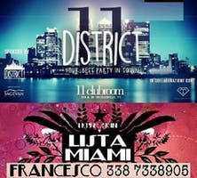 11CLUBROOM ELEVEN MILANO - MERCOLEDI 26 GIUGNO 2019 - DISTRICT - HIP HOP RNB REGGAETON PARTY - LISTA MIAMI - LISTE E TAVOLI AL 338-7338905