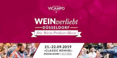 VICAMPO WEINverliebt Düsseldorf 21./22. September 2019