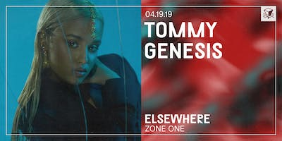 Tommy Genesis @ Elsewhere (Zone One)