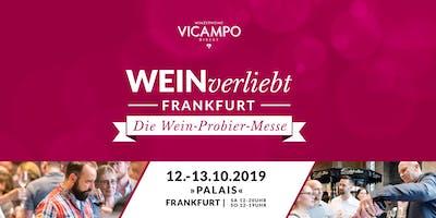VICAMPO WEINverliebt Frankfurt 12./13. Oktober 2019