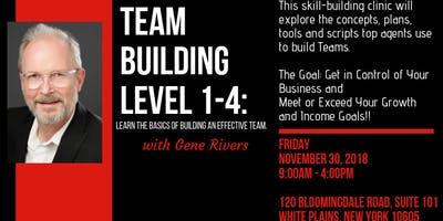 TEAM BUILDING LEVELS 1-4 with GENE RIVERS!
