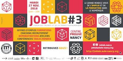 Forum JobLab des talents et de la transition numérique