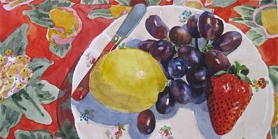 Still Life Watercolors with Jeanne Potter