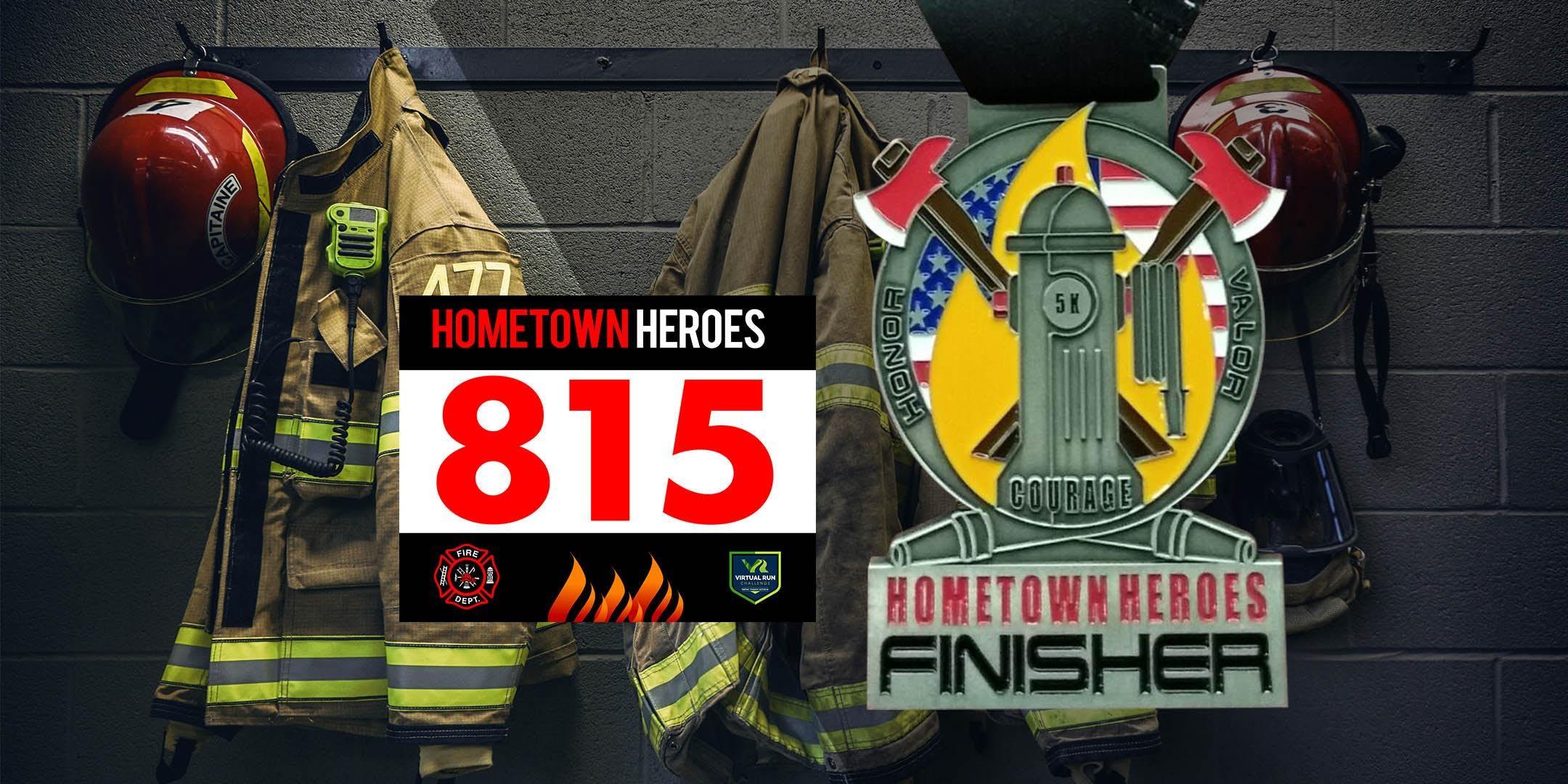 Hometown Heroes Firefighter Virtual 5k Run Walk - Los Angeles