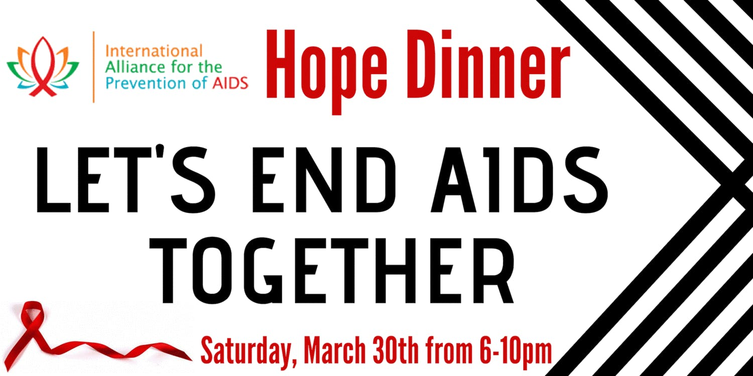 Early Bird Ticket Sale for Hope Dinner March 30, 2019