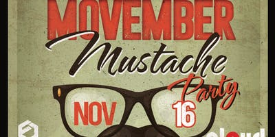 Movember Mustache Party @ Fiction // Fri Nov 16 | Ladies FREE Before 11PM & $5 Drinks