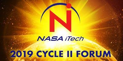 2019 NASA iTech Cycle II Forum - PASADENA