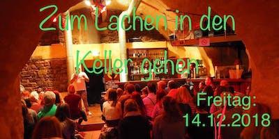 Zum Lachen in den Keller gehen. Comedy in Freiburg