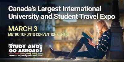 Study and Go Abroad Fair Toronto - Spring 2019