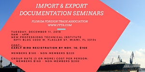 Export & Import Documentation Seminar - English Dec....