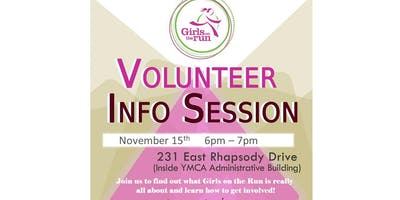 Girls on the Run Volunteer Information Session