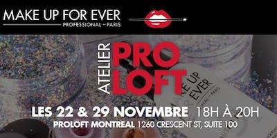 Ateliers ProLoft   Maquillage des fêtes