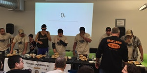 The National Bagel Eating Contest