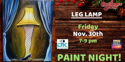 Leg Lamp Paint Night! [Middleburg Hts]