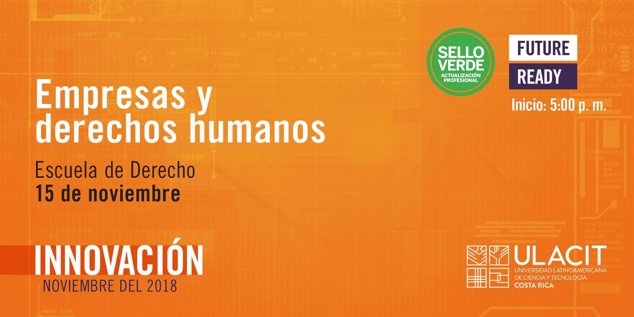 Sello verde: Empresas y Derechos Humanos