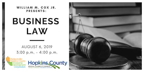 Business Law tickets