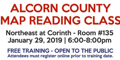 Alcorn County Map Reading Class (2 hour)