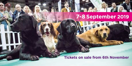 The Dog Lover Show 2019 tickets