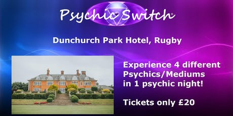 Psychic Switch - Rugby tickets