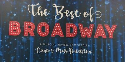 Best of Broadway: Kosher Dinner Theatre