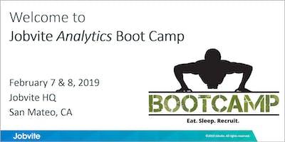Jobvite Analytics Boot Camp - February 7 & 8, San Mateo, CA