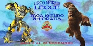 Il Circo M.Orfei a LECCE SURBO sconti gratis