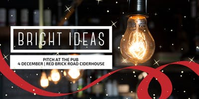 Pitch at the Pub | Bright Ideas Speed Pitch