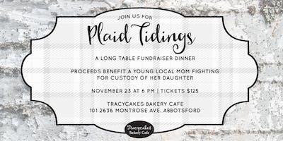Plaid Tidings A Long Table Fundraiser Dinner