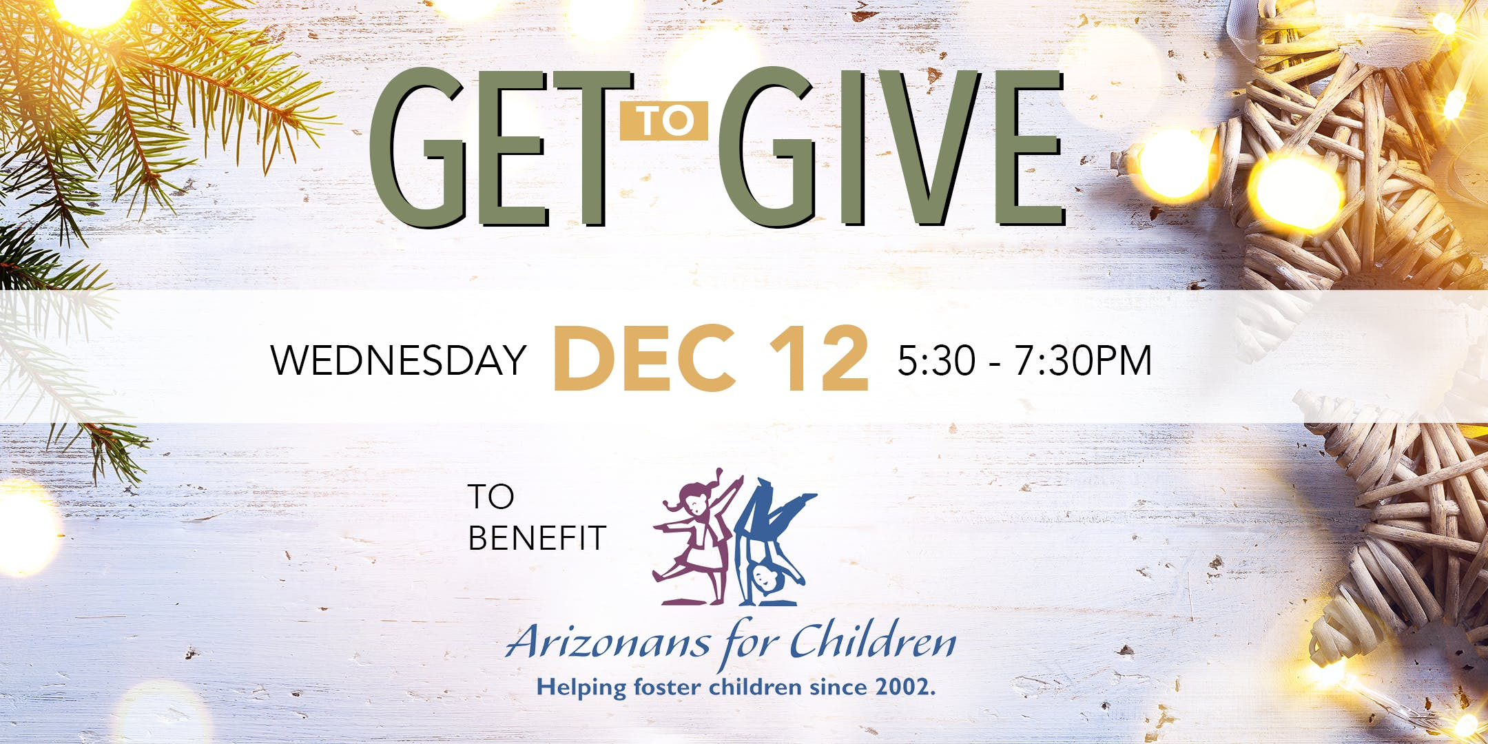 GET to Give: Arizonans for Children