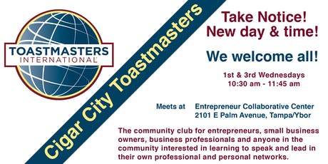 Cigar City Toastmasters tickets
