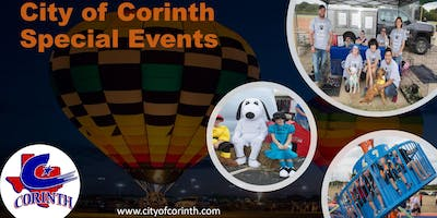 2019 Corinth Special Event Sponsor Registration