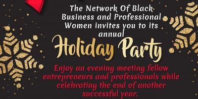 NB2PW 2018 Annual Holiday Party - Join us!